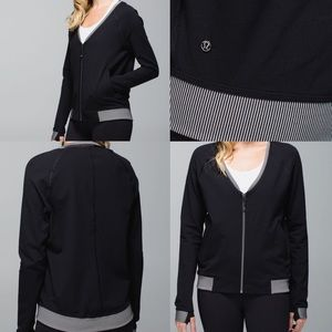 Lululemon H'om zip up jacket